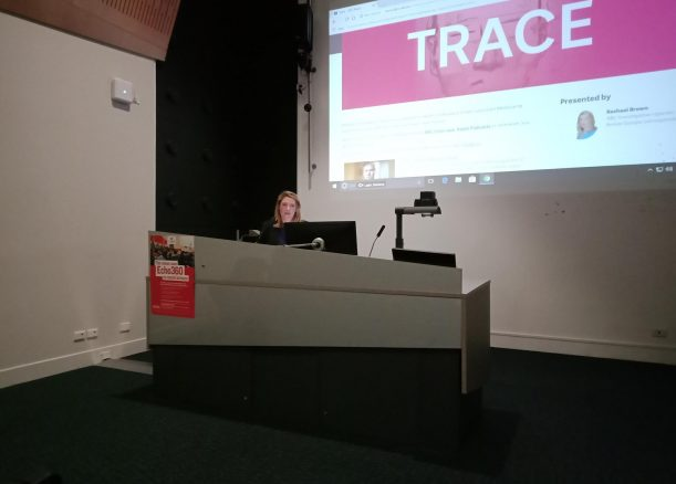 Rachael Brown tells the story of Trace