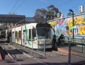 New art trams appear today