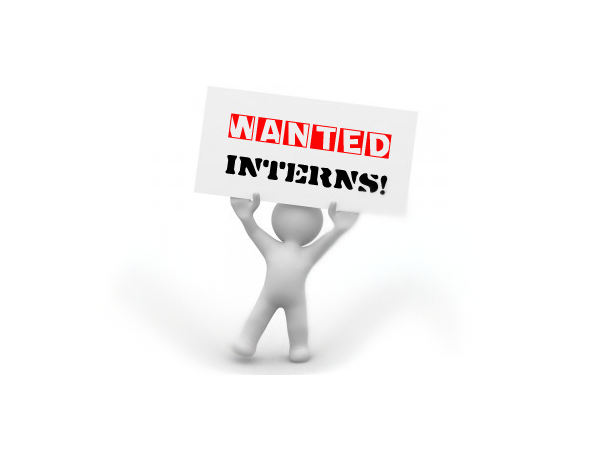 Four internship opportunities exist in areas of marketing,..
