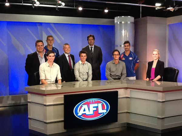 La Trobe students get AFL media gig