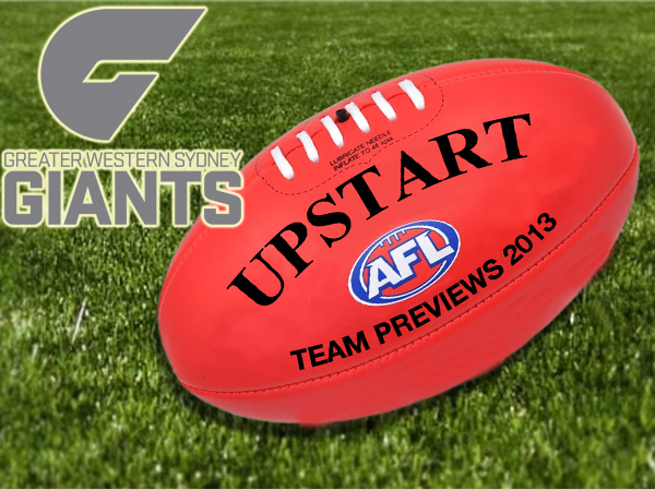AFL Greater Western Sydney: 2013 preview