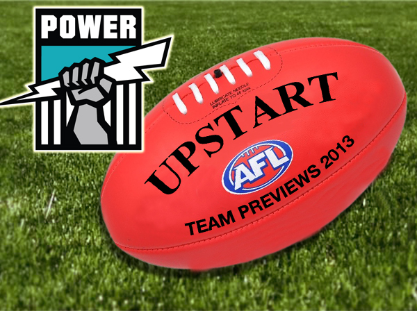 AFL Port Adelaide 2013 team preview