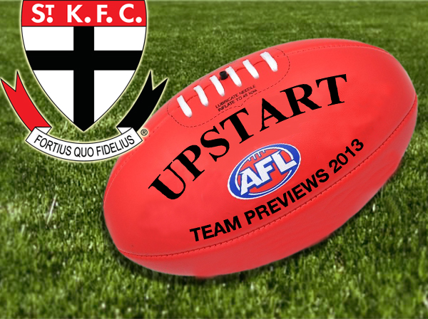 AFL St Kilda 2013 team preview