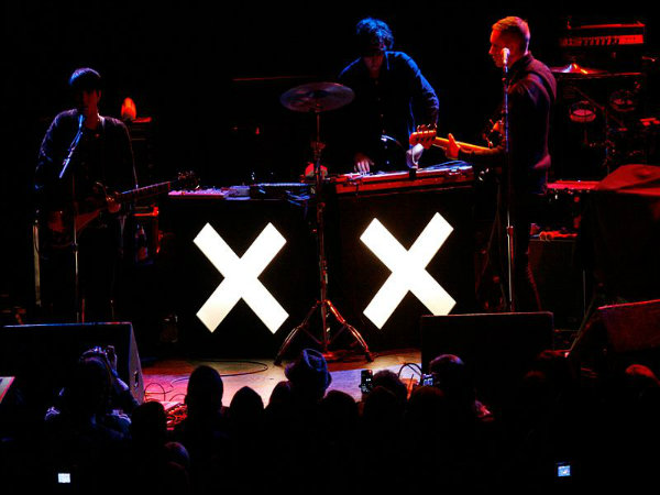 The sounds of The xx