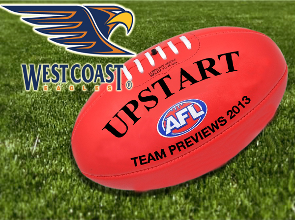 AFL 2013 team preview: West Coast