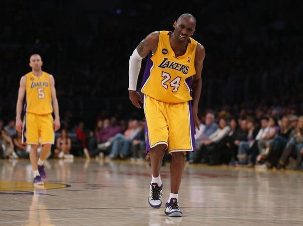 With superstar Kobe Bryant sidelined indefinitely with an..