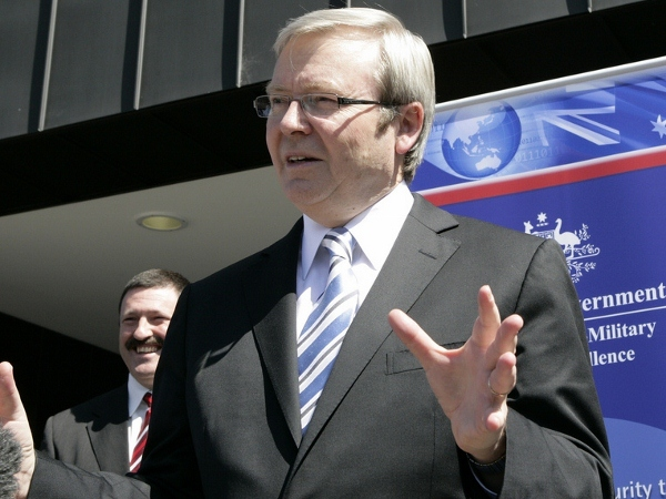 Kevin Rudd at La Trobe University