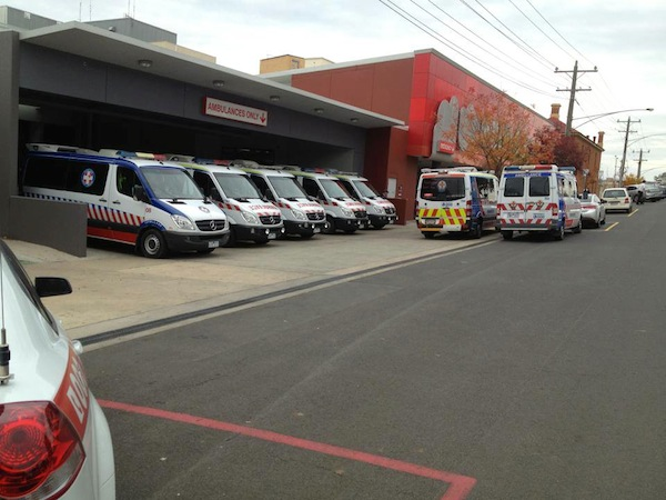 What is the real reason behind Victoria's sluggish ambulance..