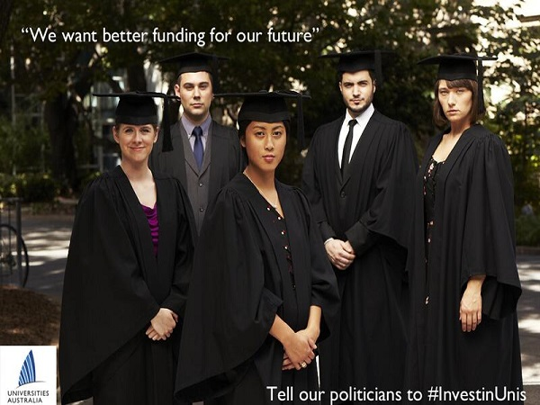 Australia's proposed cuts to university funding will..