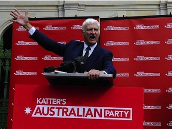 Katter kicking it up a notch