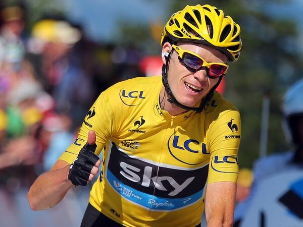 Froome crowned