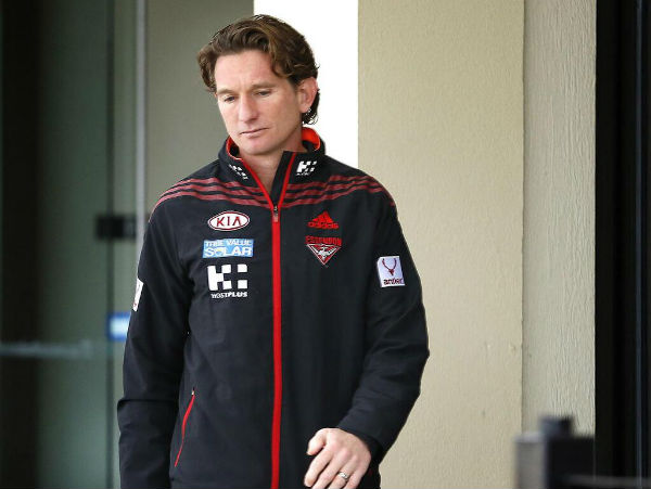 Essendon and four of its senior staff were last night accused..