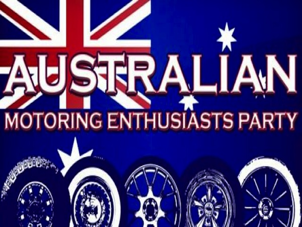 Party Crasher: Australian Motoring Enthusiast Party