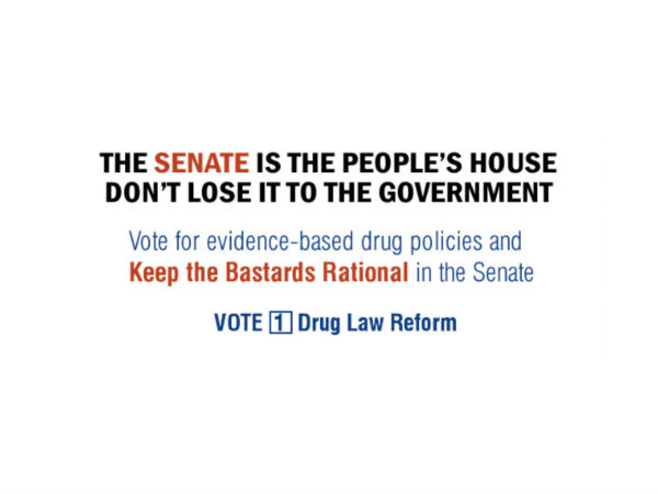 Party Crasher: Drug Law Reform