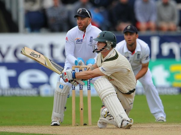 A maiden ton from Chris Rogers saved Australia on day two of..