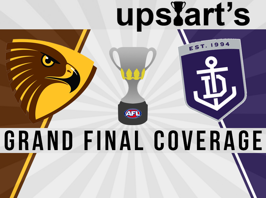 upstart's Grand Final coverage