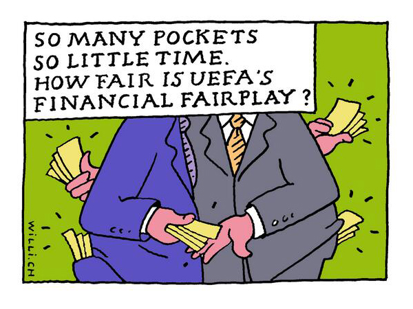 Financial foul play