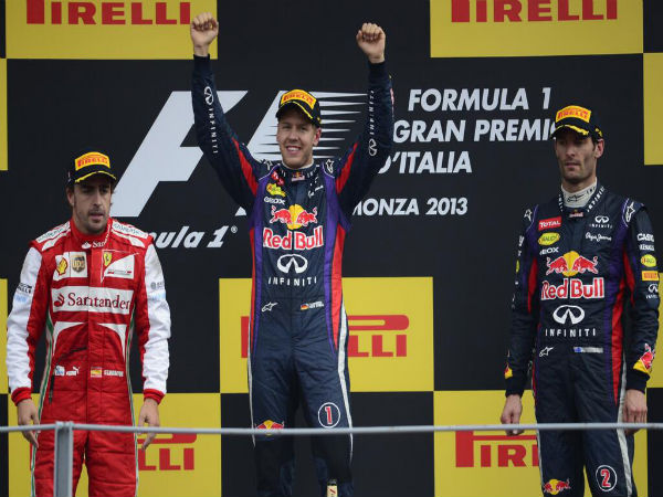 Vettel no longer the golden boy