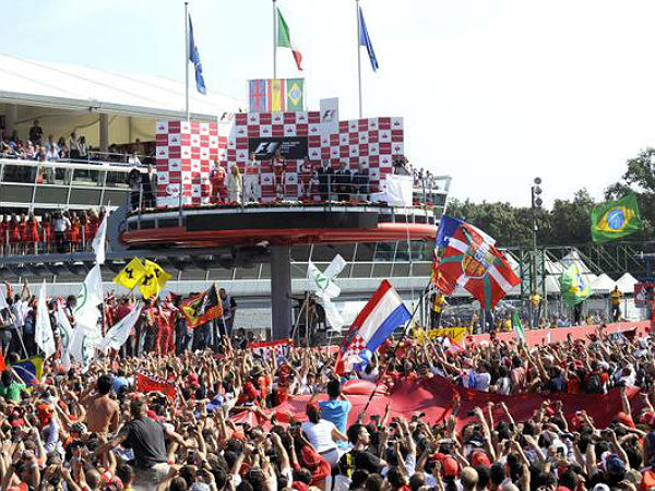 The historic Monza circuit plays host to round 12 of the..
