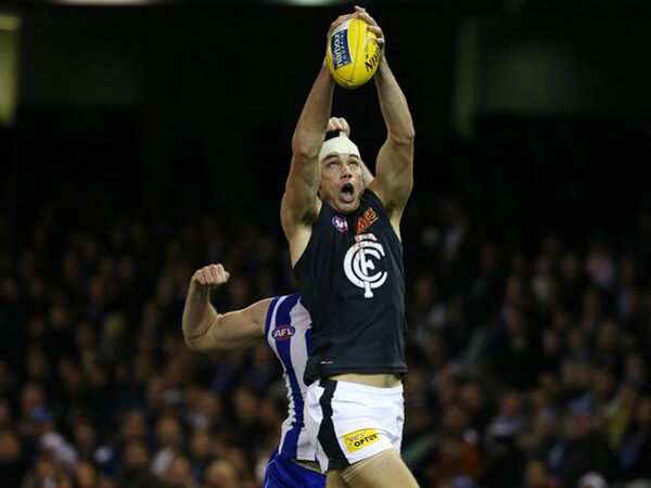 Carlton has snuck into the 2013 AFL finals series at the..