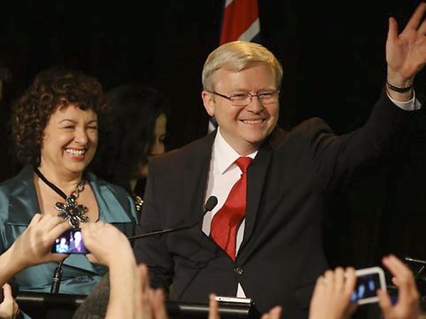 Kevin Rudd's concession speech