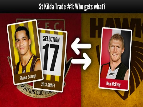 Jake Michaels and Sean Munaweera discuss St Kilda's trade..