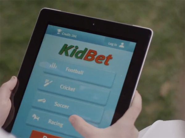 A new campaign designed to discourage children from betting..
