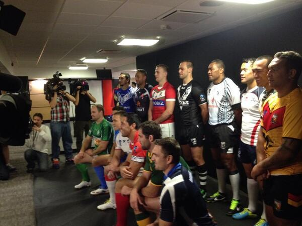 2013 Rugby League World Cup preview