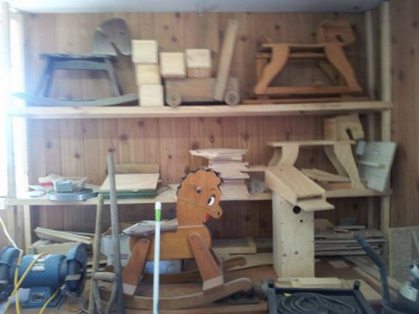 Woodwork, fun and mateship at the Men's Shed
