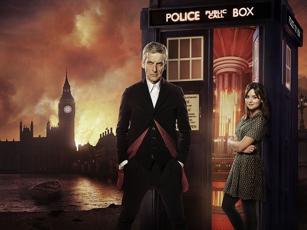 doctor who peter and whats her face