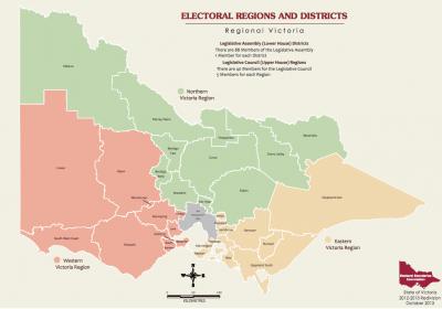 regional state electorates vic