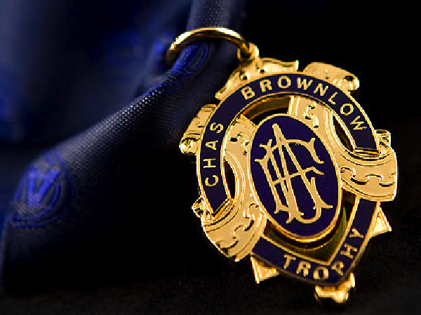 Tonight's Brownlow Medal count will be a close race. Jim..
