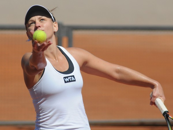 Dellacqua made it to the second round of the Rome Masters in May. Source: Flickr (Kulitat)
