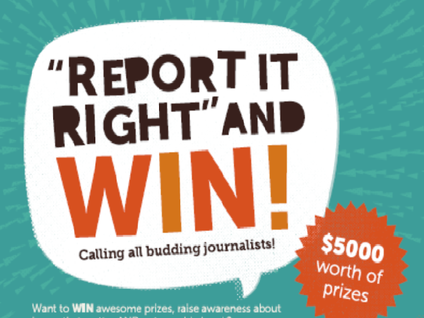 <em>Report it Right and WIN</em>