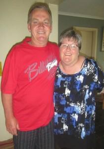 Pat and Vicki Burley
