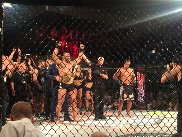 Knocking out the stereotype: cage fight a success