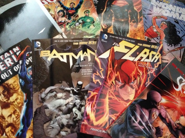 Comic books are experiencing a resurgence in popularity...