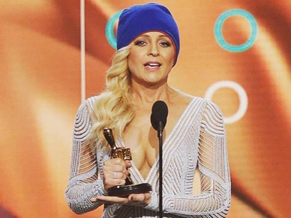 Carrie Bickmore's Logie acceptance speech highlights the lack..