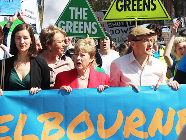 Melbourne: the Greens' stronghold