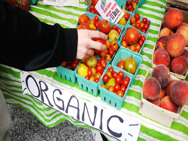 The rise of organic produce