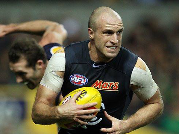Often regarded as one of the greatest AFL players, Chris Judd..