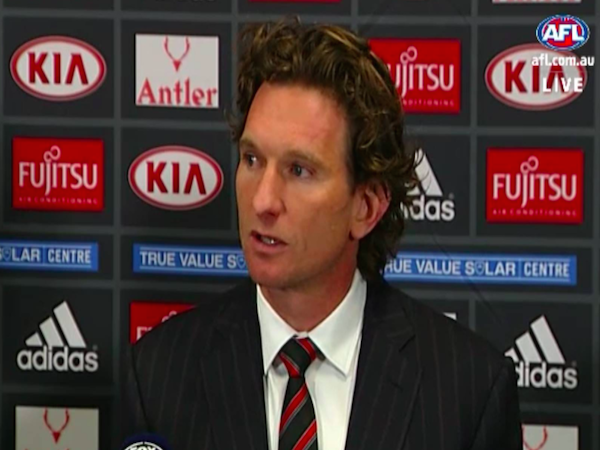 James Hird's resignation has been met with support and..