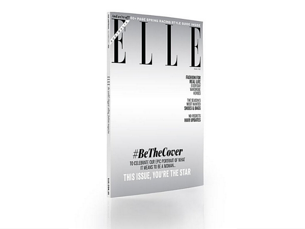 Elle cover goes faceless