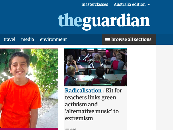 Positions at Guardian Australia