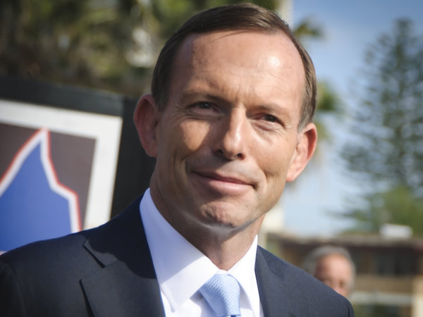 Abbott thanks Australia