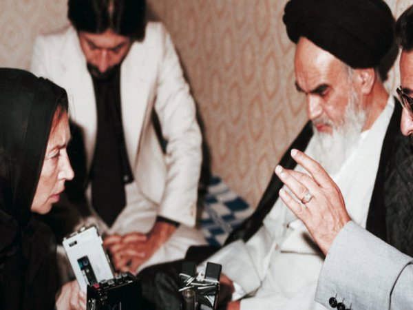 Only months after the 1979 Islamic Revolution, Oriana Fallaci..