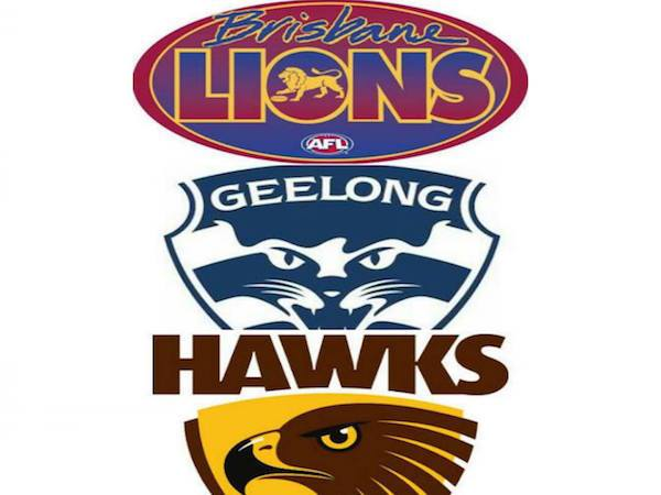 Brisbane, Geelong and Hawthorn are the strongest AFL sides of..