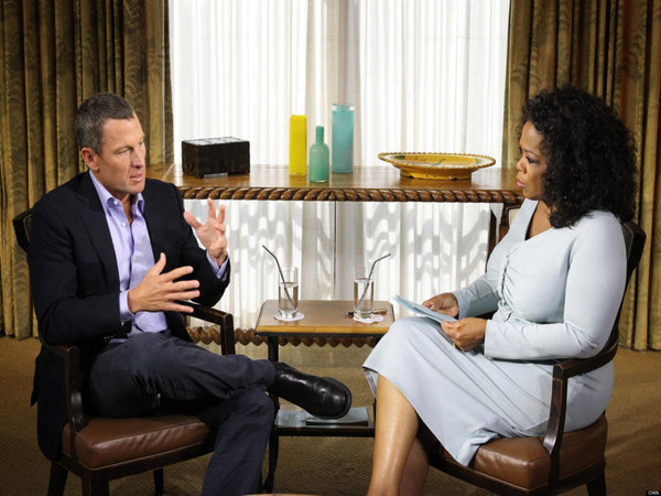 Oprah Winfrey described Lance Armstrong's doping admission as..