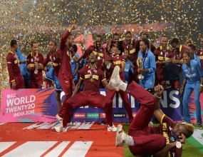 World Twenty20 triumph to boost cricket in the region.