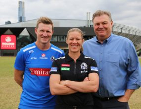 Paving the way for females in footy